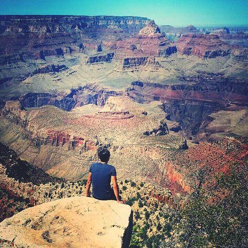 USA Grand Canyon Enjoying Life Relaxing