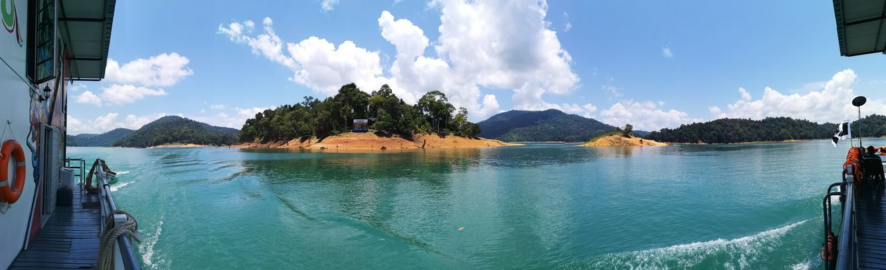 Kenyir Lake Kenyir Lake Resort Malaysia Truly Asia Malaysia Lake View Lake Lakeside Water Waterfall Water_collection Outdoors Outdoor Photography Forest Forest Photography Forestwalk Sky Cloud - Sky Mountain Scenics - Nature Nature Panoramic Beauty In Nature Day Travel Destinations Travel Tranquil Scene Transportation Tranquility No People Architecture Tourism Tree Bay Turquoise Colored