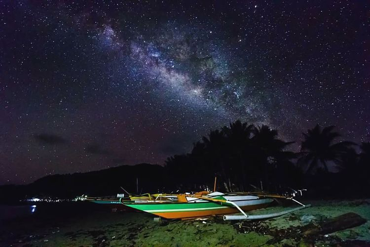 Alabat Island Quezon Province Philippines Milkyway Galactic Core Long Exposure HUAWEI Photo Award: After Dark
