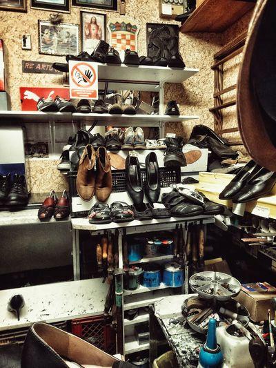 Novus Ordo Seclorum... For Sale Collection Arrangement Abundance Retail  Large Group Of Objects Variation Shoe Shoesporn Shoemaking Labour Crispin