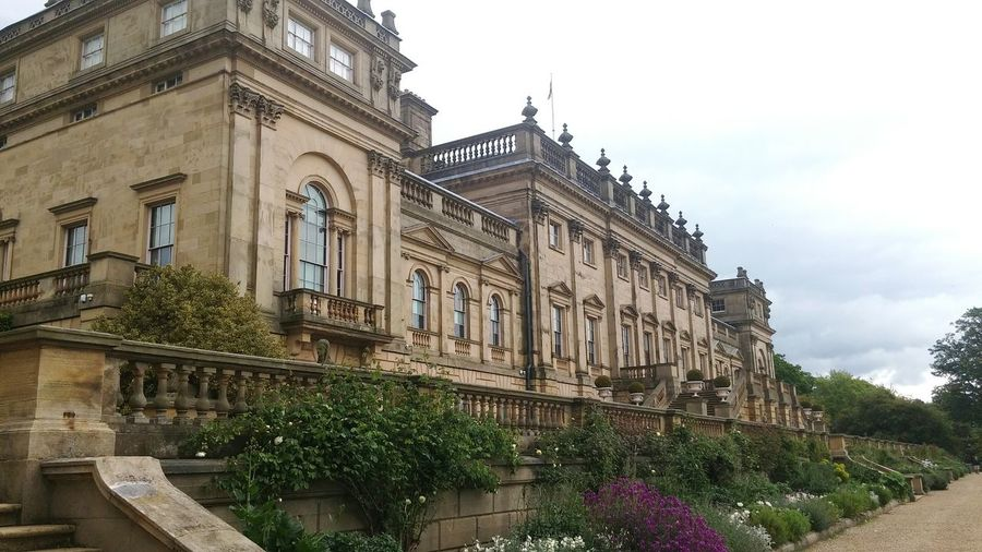 Beauty with some history. Architecture Travel Destinations Building Exterior History Façade Built Structure Cloud - Sky Low Angle View Politics And Government Day Outdoors No People Tree Sky City Yorkshire York Harewood House Harewood