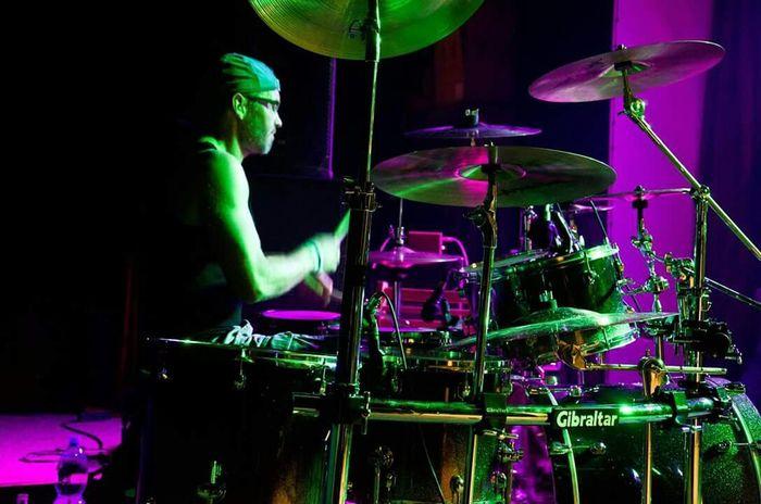 Live Music Rockforever Drummer Rockfestival