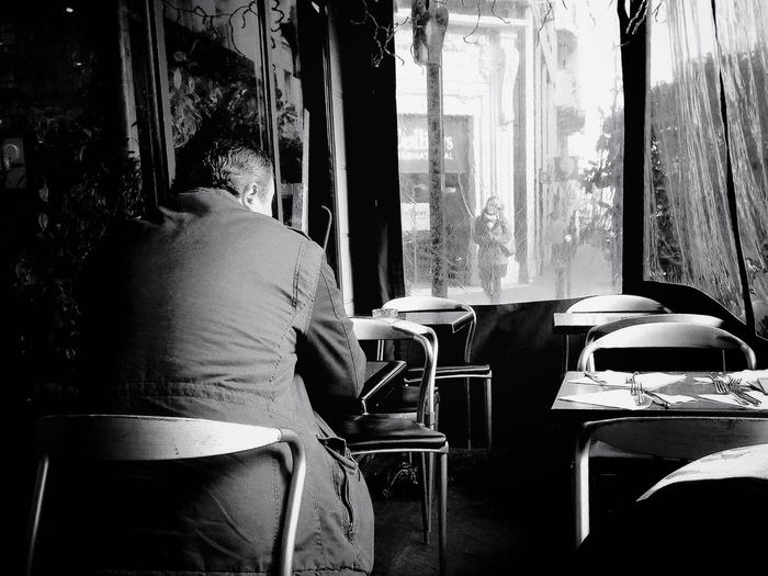 The Human Condition : Patience, waiting for her... She's coming Troquet Parisien
