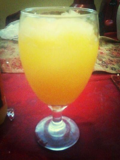 Woke Up To A Lemon-aid Daiquiri :)