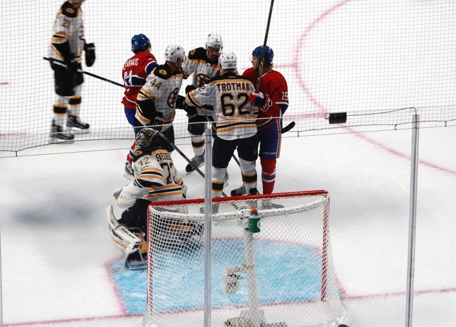 NHL Boston Bruins Montrealcanadiens Fight