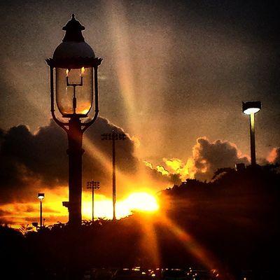 🌇 What a beautiful sunset to a fine day... 🌇 Itsabeautifulevening Sunset Lamps