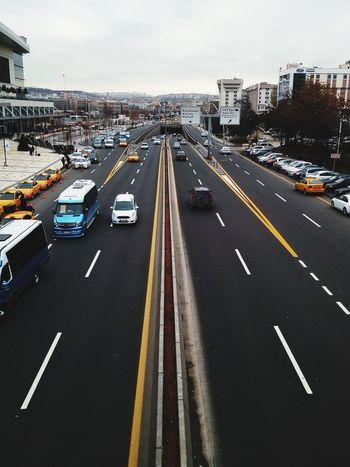 Kaos EyeEm Selects Traffic Car City Street City Cityscape No People Road