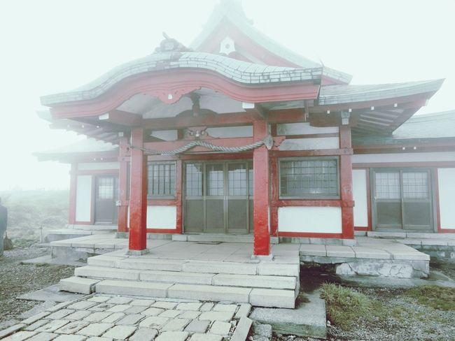 Architecture Built Structure Building Exterior No People Red History Wood - Material Roof Day Tradition Outdoors Sky Tokyo Mountain Mount FuJi Nice Feeling Vacation Long Time Ago Missing Japan Photography