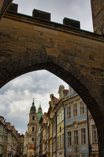 Built Structure Architecture Building Exterior Sky Arch Low Angle View The Past Building History Nature City Day No People Travel Destinations Old Travel Tourism Cloud - Sky Religion Place Of Worship Outdoors Streetphotography Street Photography Street Prague