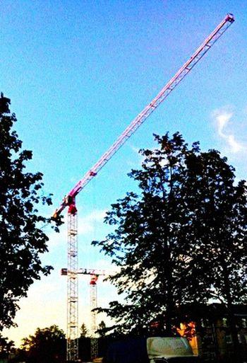 Heaven Building Crane First Eyeem Photo
