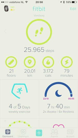 Busy day, work and running Fitbitchargehr Fitbit