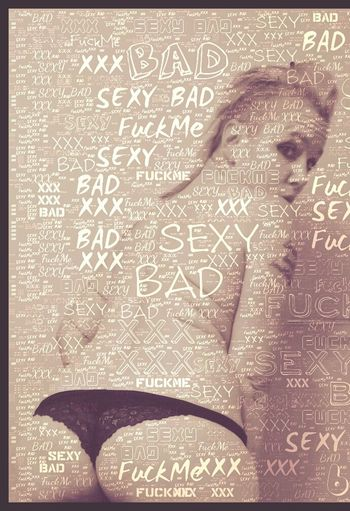 thinking out loud Typography & Design Typography Thinking Out Loud Thaughts Nudewomen Thong Sexygirl Naked_art EyeEmNewHere Text One Person Close-up Human Body Part Indoors  Day People