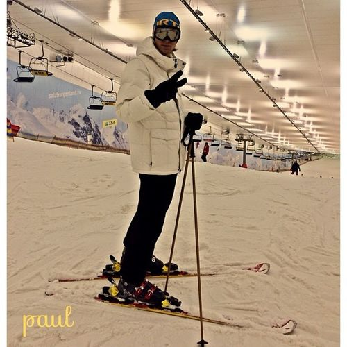 сегодня  катать пару часов) Среда выходной горнолыжка ski снег снежком москва