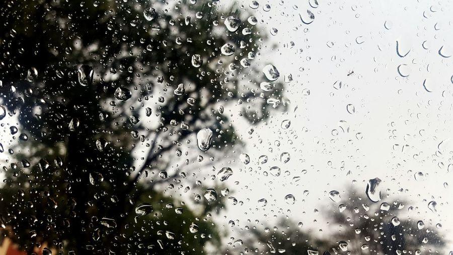 Rain Raining Window Car Storm Photography Captured