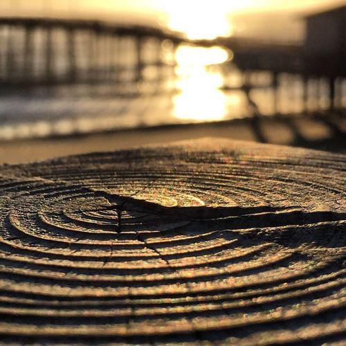 Pattern Pier Sunrise