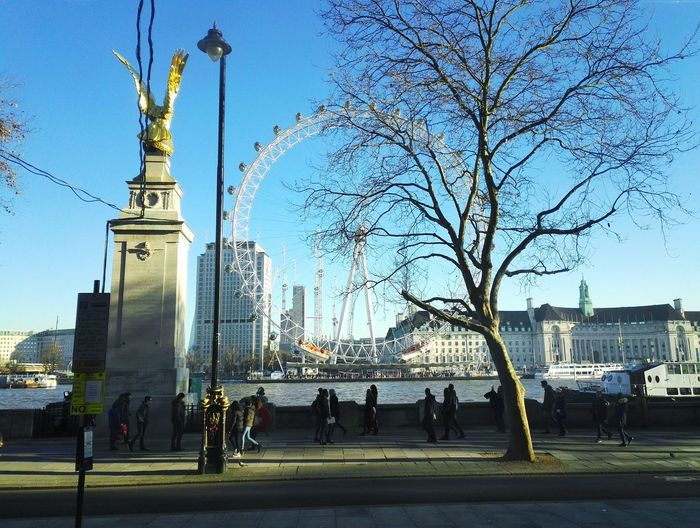 London Eye London London Eye LondonEye London Lifestyle Londononly Londonindecember Travel City Tourism Travel Destinations Sky Vacations Cultures Day Outdoors Water Thames Thames River Thames River Side Forsale For Sale Buy First Eyeem Photo