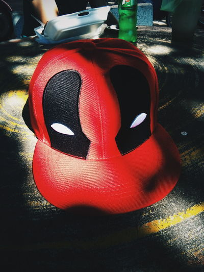 Red Deadpool No People Close-up Indoors  Day
