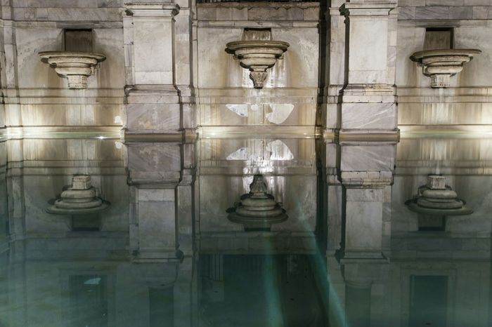 EyeEm Best Edits EyeEm Best Shots Roma Water_collection Water Reflections Fontana Dell'acqua Paola Water Reflection