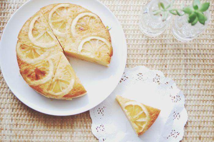 ハニーレモンケーキ♡ てづくり ケーキ レモン