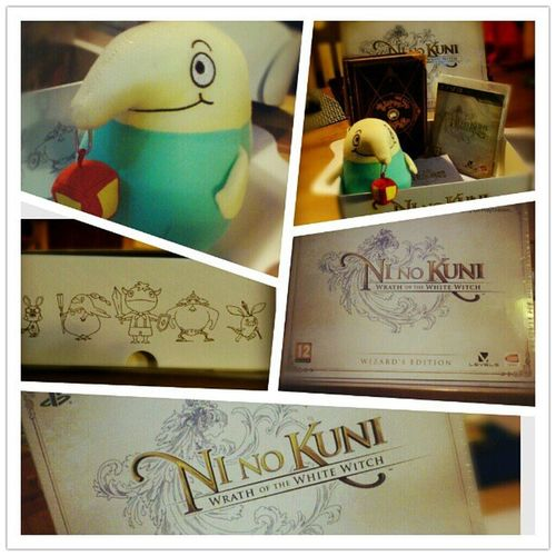 Ni No Kuni is finally here! Ps3 Ninokuni Wizardedition Level5 studioghibli legendary collectors cool