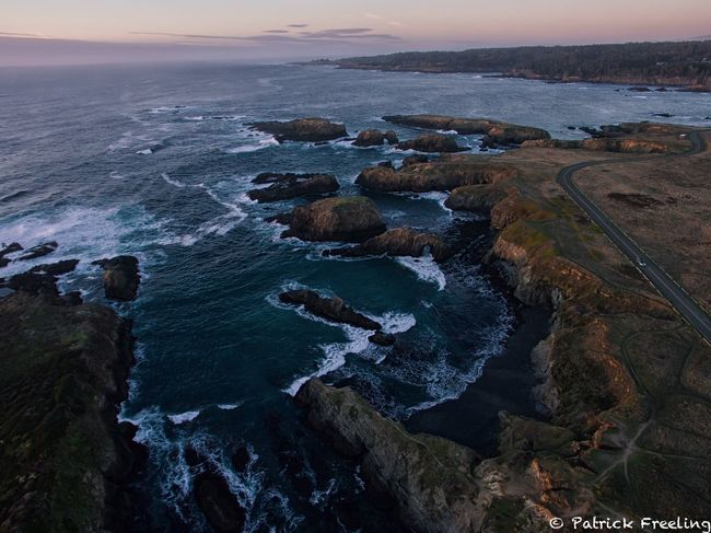 Mendocino Headlands Sea Water Nature Beauty In Nature Scenics Horizon Over Water Tranquil Scene Tranquility Outdoors No People Sky Beach Sunset Day