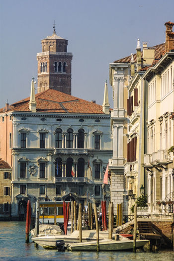 Venedig ohne Touristen, Venice withaout Tourists Venedig, Ohne Touristen, Lagune, Frühling, Venice, WithoutTourists, Springtime, City, Sea, Water, Historical, Old Town Architecture Building Exterior Clear Sky Day Gondola - Traditional Boat Outdoors Travel Destinations