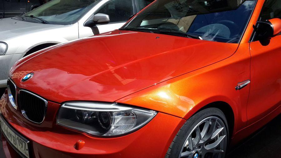 Color Orange Sweet Car