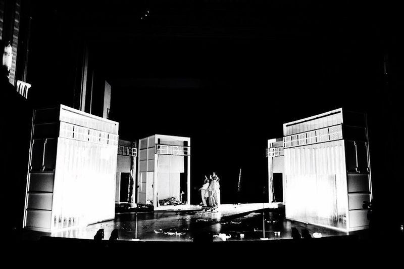 Centraltheater Leipzig.Clemens Meyer: Die Nacht,die Lichter Regie:S.Hawemann