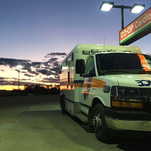 EMS Ambulance Sunset EyeEmNewHere The Week On EyeEm
