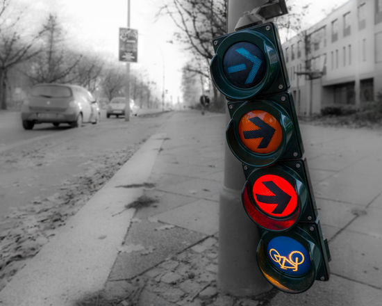 Berlin Broken City Close-up Day Focus On Foreground Illuminated Isolated Color Keycolor Outdoors Road Sign Stoplight Street Discover Berlin
