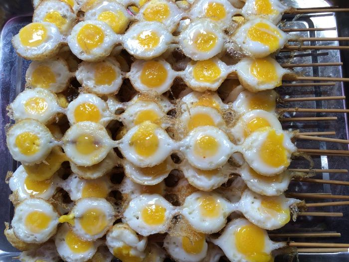 Chinese Food Market Eggs...