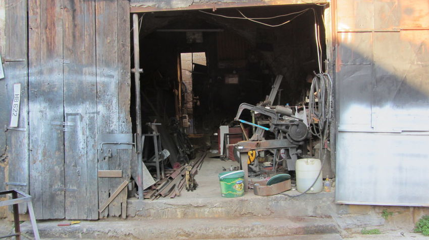 Cyprus Cyprus Cat Nikosia Workshop Workshop View Abandoned Cat Day Destruction Indoors  Industry No People