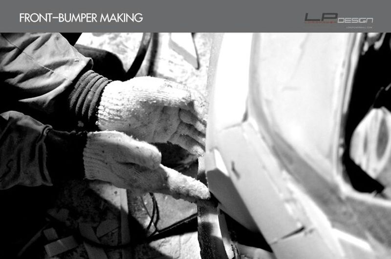 나만의 차를 완성하는 곳_로드파워디자인 LORDPOWER DESIGN Kia Sorento Kia MARQUIS-25T Full Body Kit Aeroparts Front Bumper Making
