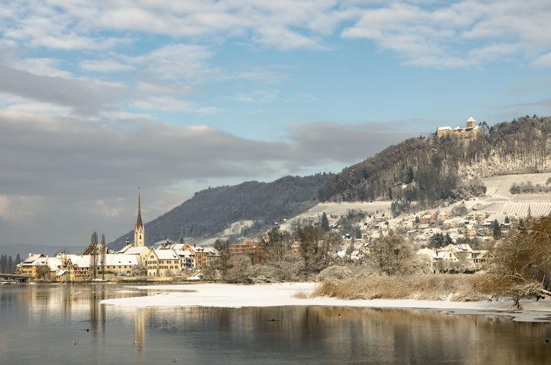 Stein am rhein, winter landscape, canton schaffhausen, switzerland