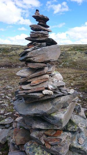 Norway Forollhogna Nationalpark Stone Art Varde