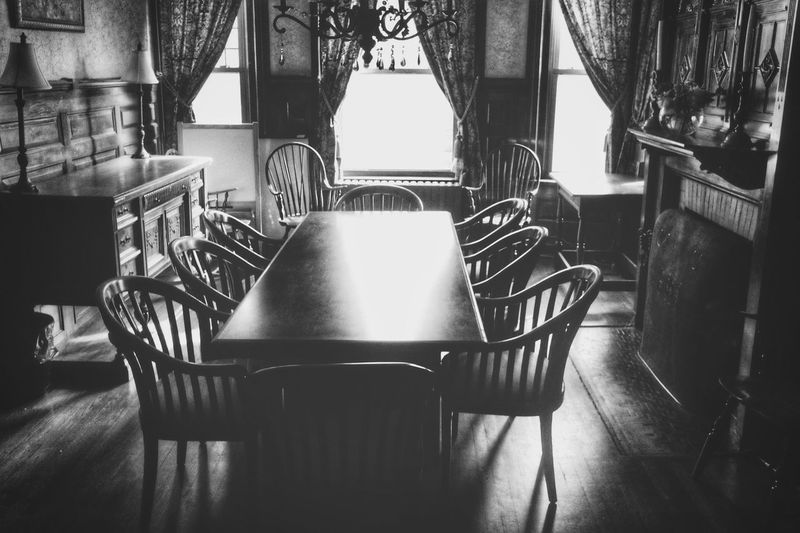 Logomachy Blackandwhite Interior Antique Black And White Dining Table Connecticut Home