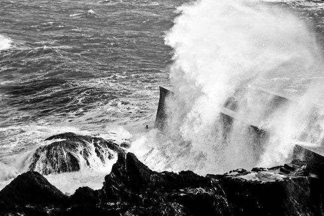 Stormy Seas #2 North Devon UK Beauty In Nature Breaking Crash Crashing Day Force High Angle View Hitting Motion Nature No People Outdoors Power In Nature Rough Sea Sea And Sky Seascape Splashing Stormy Sea Water Wave