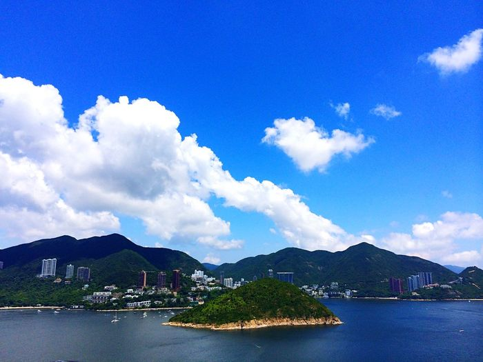 Sky Clouds Clouds And Sky Sky And Clouds Sea Blue Sky Blue Sky White Clouds White Clouds Island OpenEdit