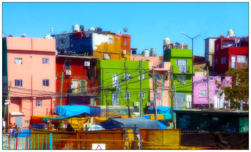 Argentina BYC Bernardo Day Built Structure Architecture Building Exterior City Immeubles Villa Buenos Aires Colores Colors Couleurs Painted Houses Poverty Bidonville Shantytown Outdoors Building Multi Colored Sky EyeEmNewHere