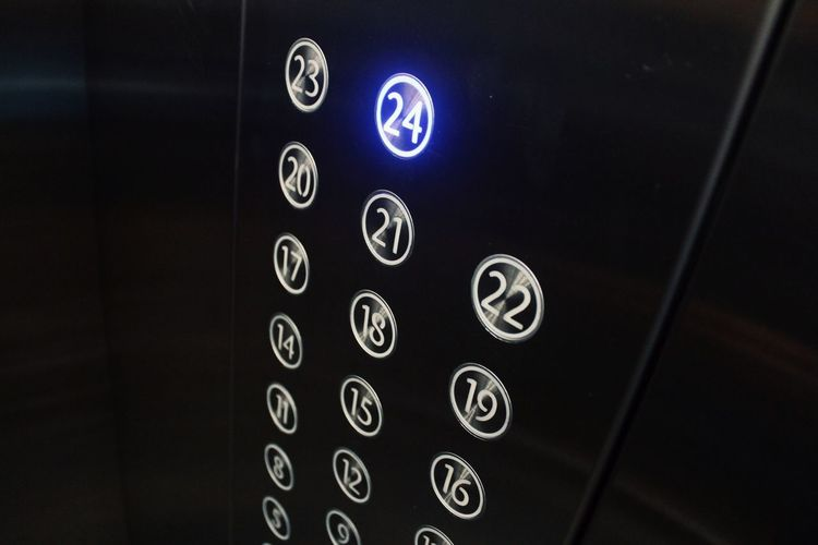 Lift Technology Number Close-up Business Finance And Industry EyeEm Indonesia