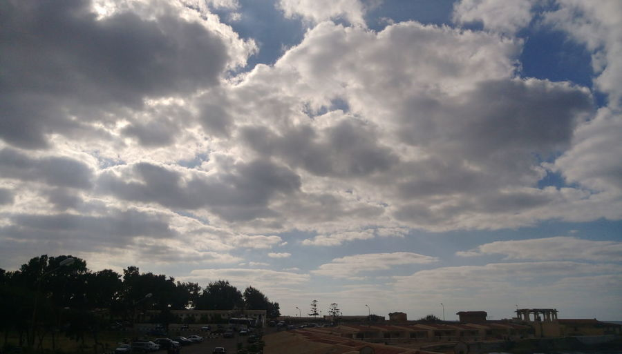 Cloud - Sky Sky No People Sunbeam Outdoors Nature Day Water Sea And Sky Clouds And Sky Cloud_collection  Cloudy Day Cloudy Sky Alexandria Egypt Elmontazah