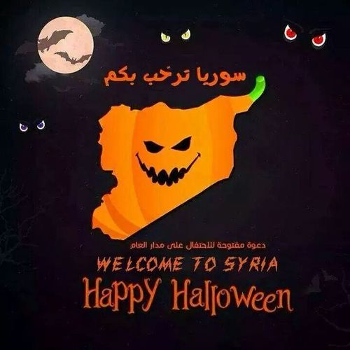 Happy Halloween! Welcome To Syria