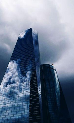 Madrid Madrid Spain City Buildings Buildings & Sky