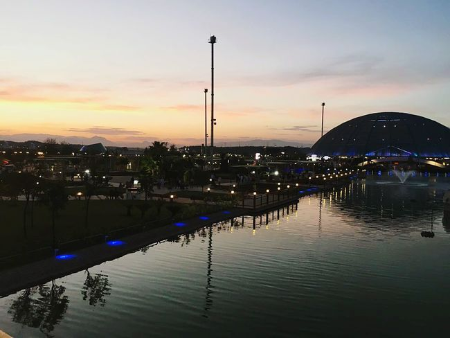 Expo 2016 Memories..Last 2 day. Expo2016Antalya Reflection Sunset Water Nature Sky Antalya Turkey Beauty In Nature