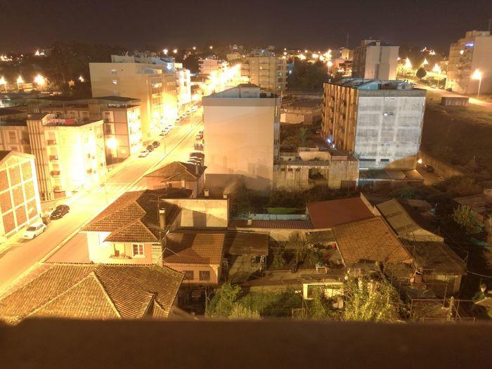 Line light on night city City Cityscape Night Illuminated First Eyeem Photo