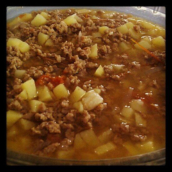 El Paborito Picadillo . Lunch Food