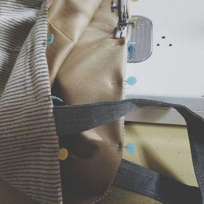 sewing Favorite Handmade Sewing Machine Sewing Machine ミシン ハンドメイド バッグ Bag 手作り 手芸 ソーイング Water Close-up