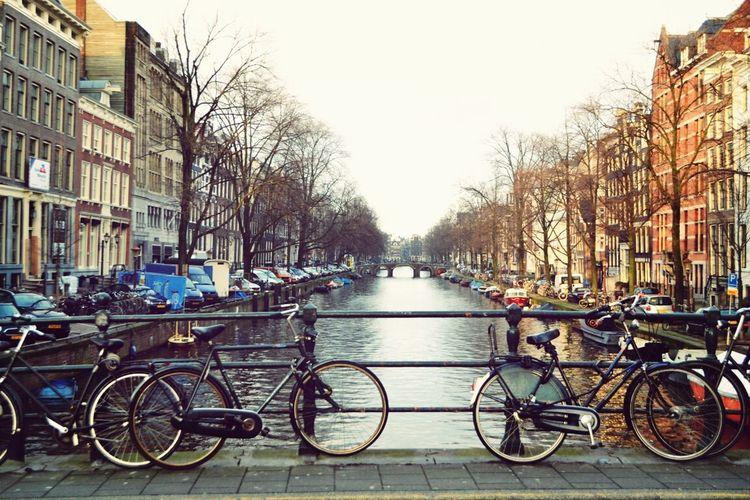 Amsterdam City Bridge River