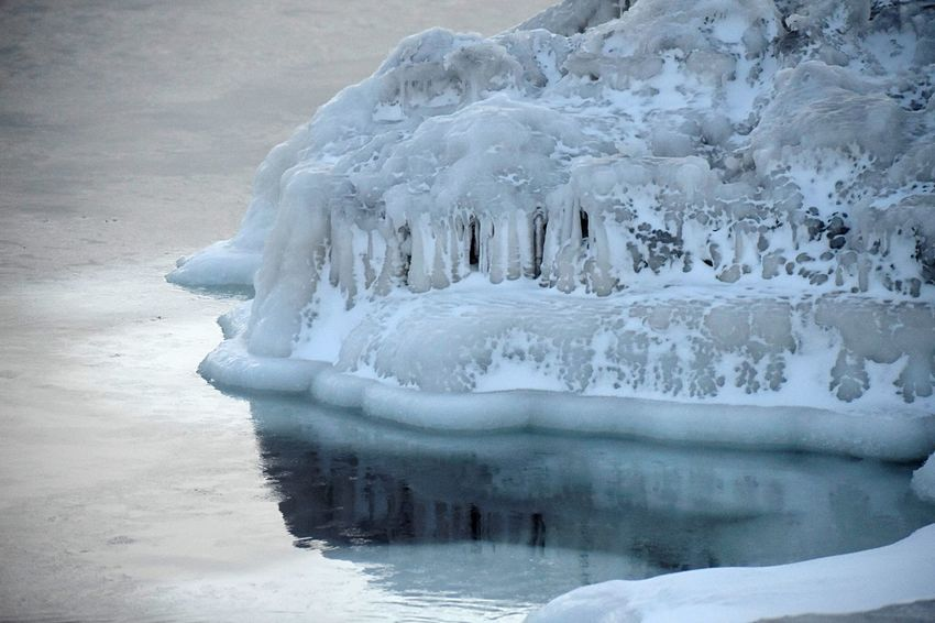 Ice on an arctic beach Arctic Ocean Cold Temperature Winter Frozen Ice Snow Nature Environment White Color Water Glacier Frost Iceberg - Ice Formation No People Landscape Outdoors Beauty In Nature Close-up