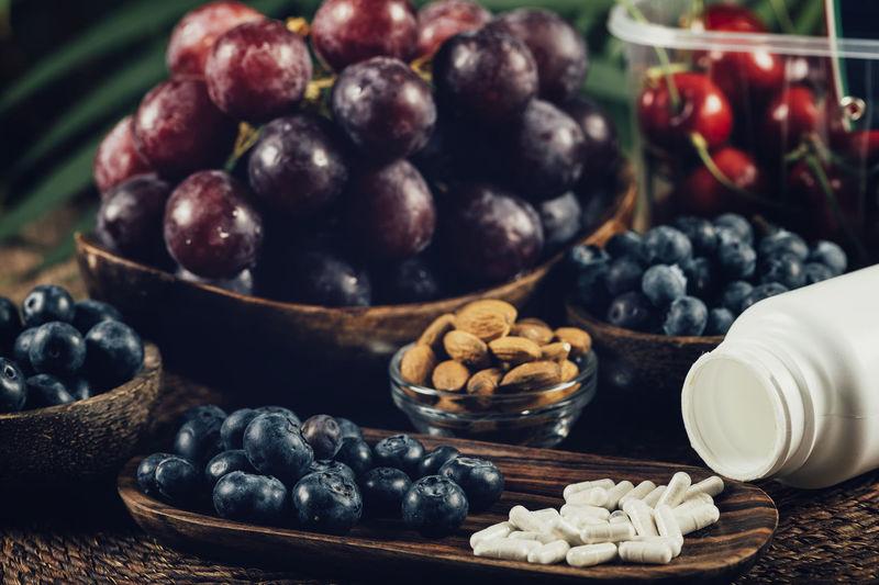Trans-pterostilbene supplement capsules